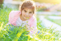 Cute little girl outdoors - PhotoDune Item for Sale