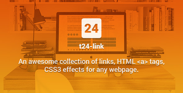 t24-link - Awesome Collection of CSS3 Effects for Hyperlinks - CodeCanyon Item for Sale