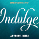Indulge Script - GraphicRiver Item for Sale