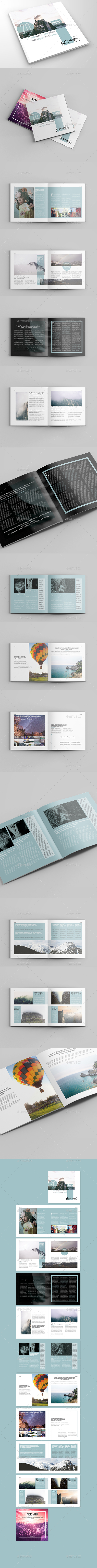 Photo Media Square Catalog&Brochure - Brochures Print Templates