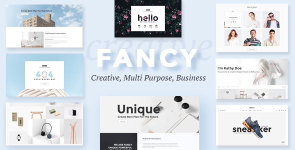 Fancy – Multipurpose Business PSD Template