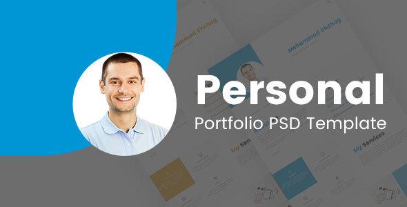Shohag Personal Portfolio PSD Template
