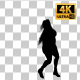 Overweight Woman Dancing Silhouette-4 - VideoHive Item for Sale