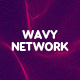 Wavy Network Backgrounds - GraphicRiver Item for Sale
