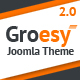 Groesy - Responsive Multi-Purpose Joomla Template Nulled