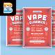 Vape Summer Flyer - GraphicRiver Item for Sale