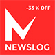 Newslog - Clean News & Magazine WordPress Theme Nulled