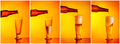 Pouring beer sequence collage - PhotoDune Item for Sale