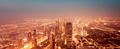 Beautiful night Dubai cityscape - PhotoDune Item for Sale