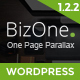 BizOne - One Page WordPress Nulled