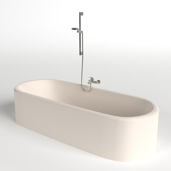 Bathtub 2 - 3DOcean Item for Sale