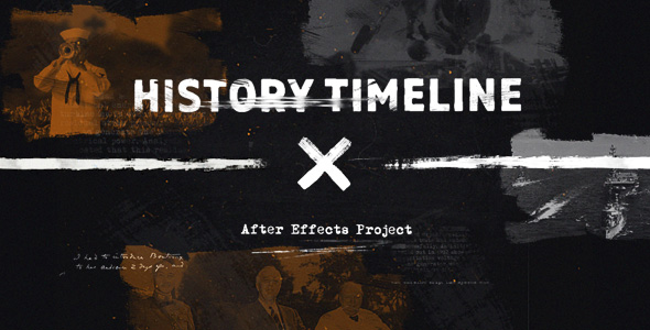 Timeline History After Effects Templates From VideoHive - Timeline after effects template