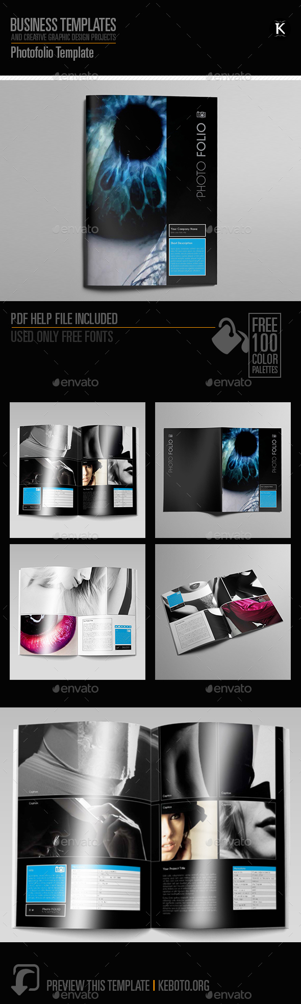 Photofolio Template - Miscellaneous Print Templates