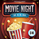 Movie Night Flyer - GraphicRiver Item for Sale