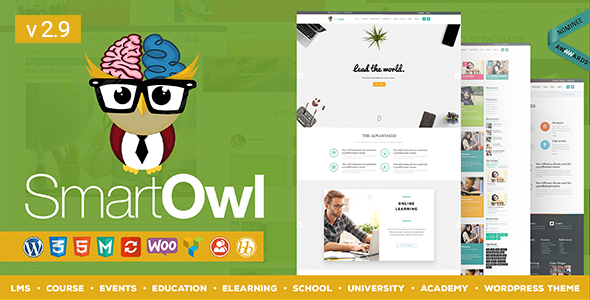 SmartOWL - Education Theme & Learning Management System for WordPress - Education WordPress