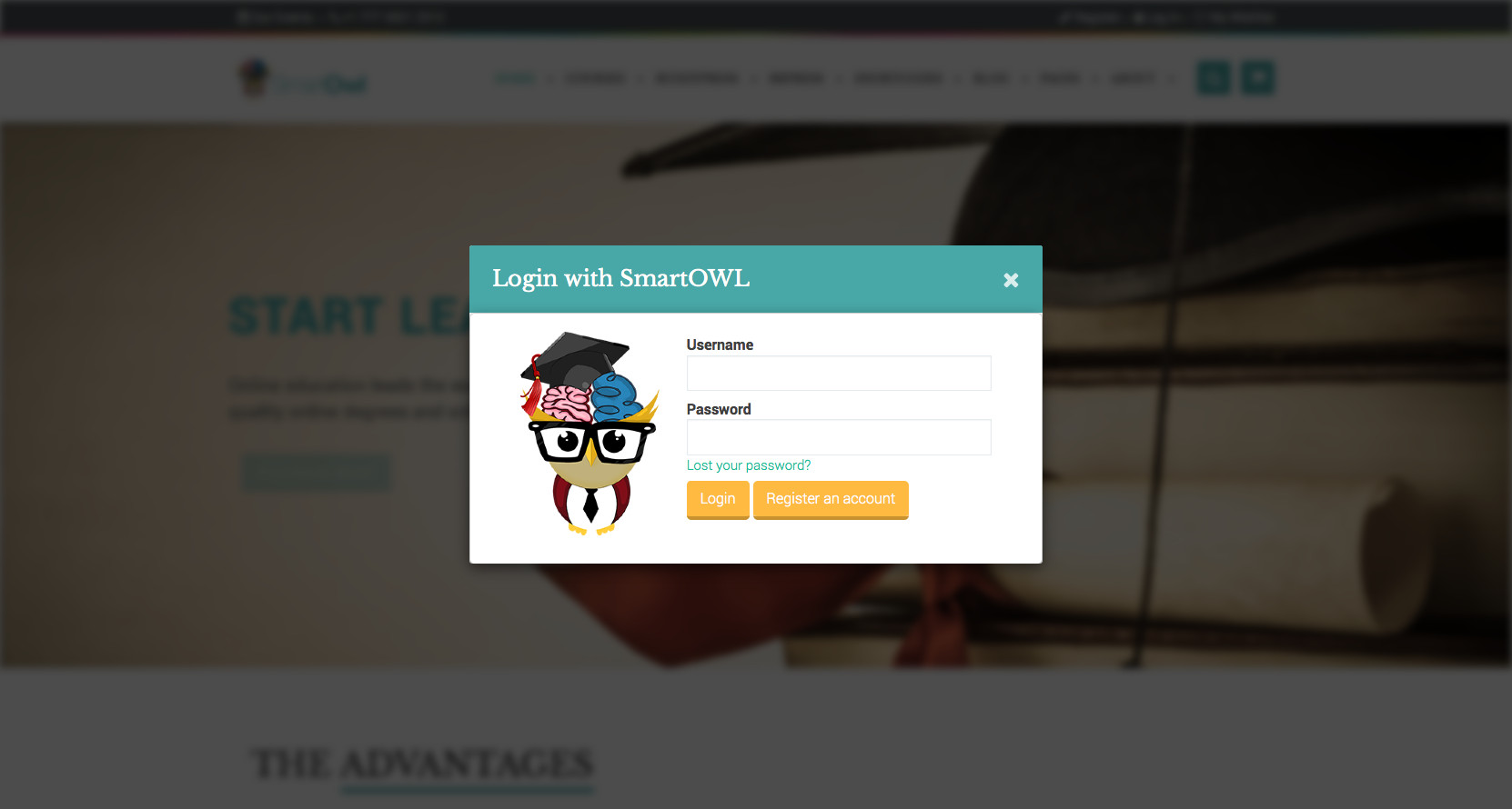 SmartOWL Education Theme & Learning Management System
