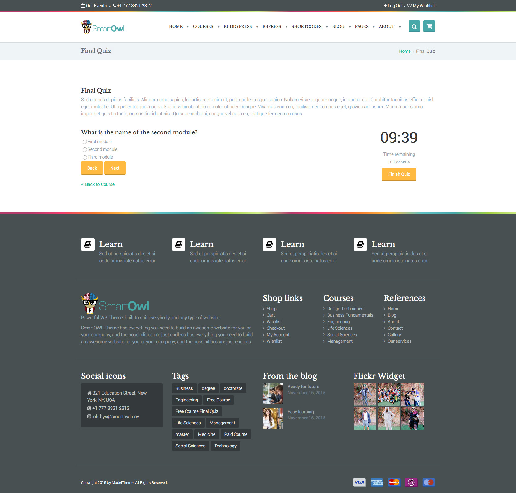 SmartOWL - Education Theme & Learning Management System for ...