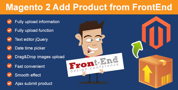 Magento 2 Add Product from FrontEnd - CodeCanyon Item for Sale