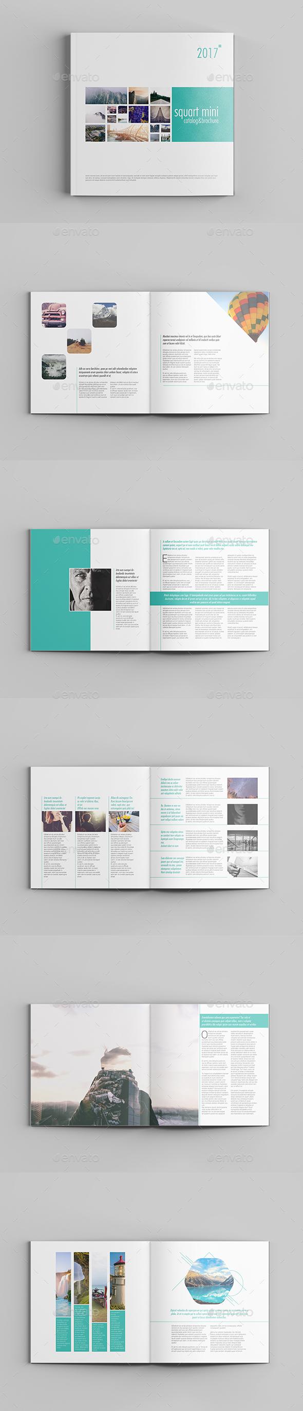 Squart Mini Catalog 12 Pages - Brochures Print Templates