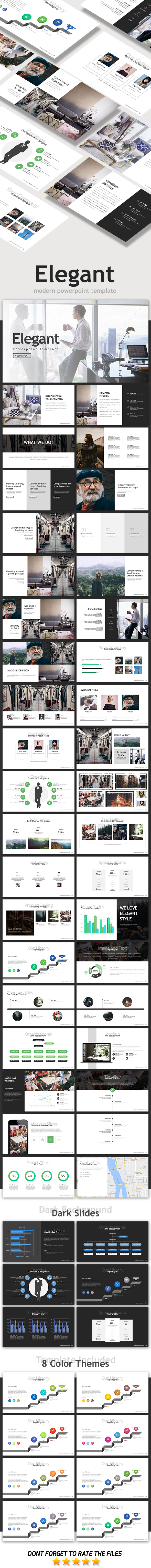 Elegant Powerpoint Template - Business PowerPoint Templates