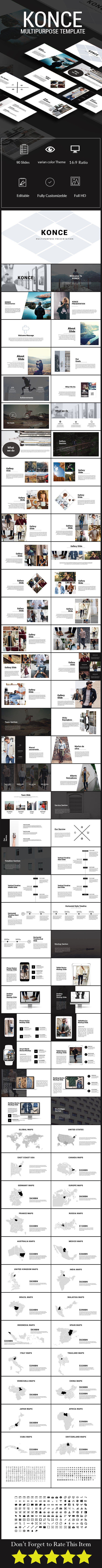 Konce Powerpoint Template - PowerPoint Templates Presentation Templates
