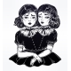 Portrait of Victorian Circus Siamese Twins - GraphicRiver Item for Sale
