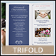 Wedding Planner A4 / Letter Trifold - GraphicRiver Item for Sale