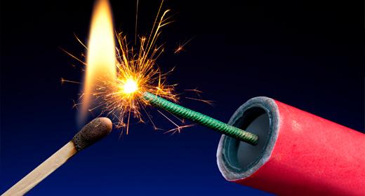 Fireworks sound fx