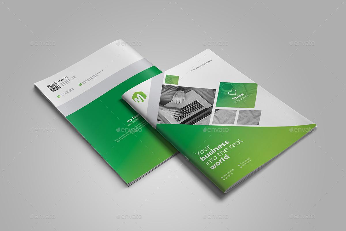Business Bi-Fold Brochure Bundle 2 in 1 by generousart | GraphicRiver