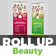 Spa Beauty Roll Up Banner Template