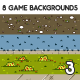 8 3D Game Backgrounds Set 3 - GraphicRiver Item for Sale