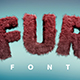 Fur Font - GraphicRiver Item for Sale
