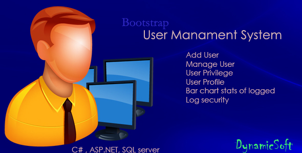 User management system | C# ASP.NET - CodeCanyon Item for Sale