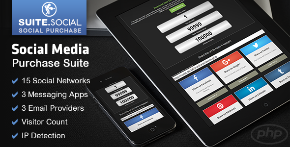 Social Purchase Suite - For Authors, Sellers & Marketers - CodeCanyon Item for Sale