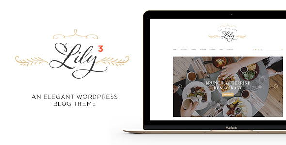 Lily - An Elegant WordPress Blog Theme - Personal Blog / Magazine