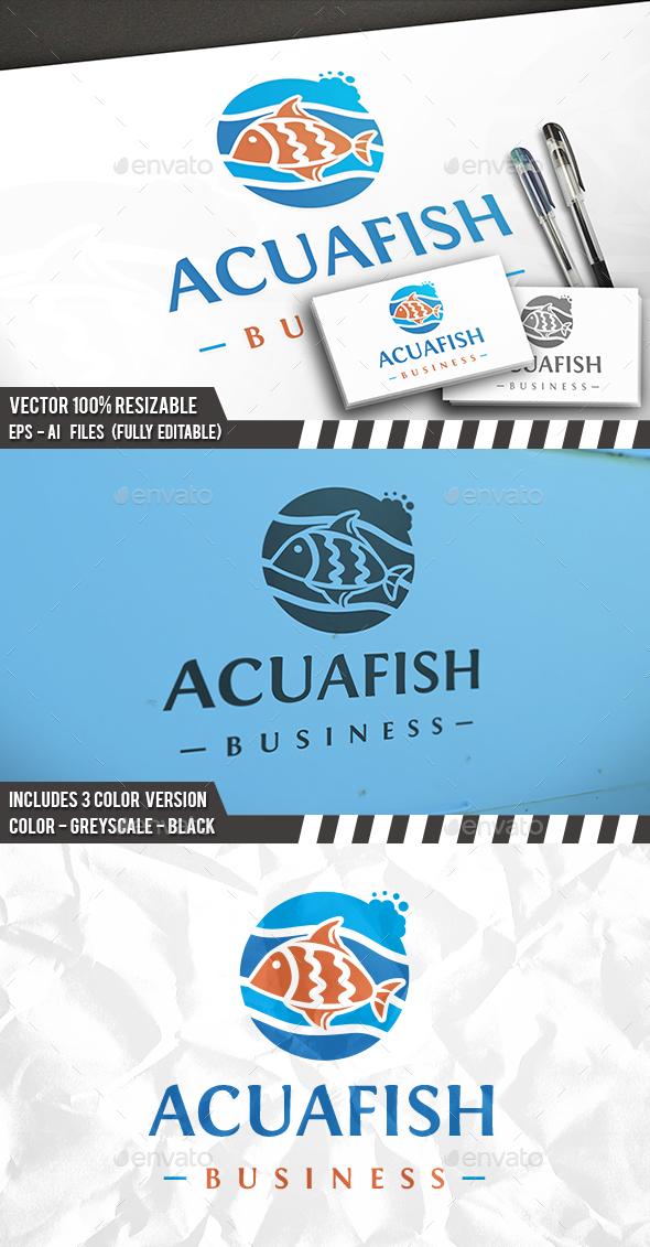 Fish Logo Template - Restaurant Logo Templates