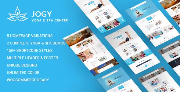Jogy | Yoga & Spa WordPress Theme