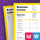 Business Invoice - GraphicRiver Item for Sale