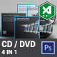 Corporate CD / DVD Template Vol. 1 - GraphicRiver Item for Sale