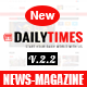 DailyTimes - News and Magazine Joomla Template Nulled