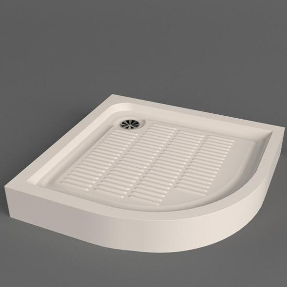 Shower Tray - 3DOcean Item for Sale
