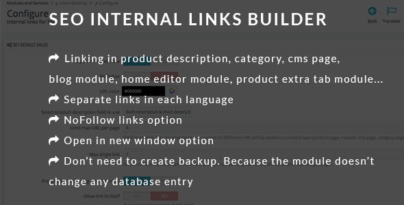 SEO Internal Links Builder - CodeCanyon Item for Sale