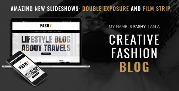 Fashy – A Responsive WordPress Fashion Blog Theme