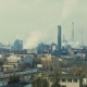 Air Pollution From Industrial Plants. Large Plant on the Background of the City - VideoHive Item for Sale