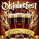 Oktoberfest Flyer Template V1 - GraphicRiver Item for Sale