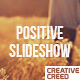 Positive Slideshow - VideoHive Item for Sale