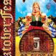 Oktoberfest Flyer Template V3 - GraphicRiver Item for Sale