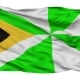 Dili City Isolated Waving Flag - VideoHive Item for Sale