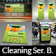 Cleaning Services Advertising Bundle Vol.3 - GraphicRiver Item for Sale