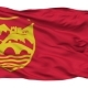 Skopje City Isolated Waving Flag - VideoHive Item for Sale